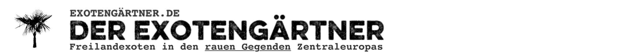 DER EXOTENGÄRTNER