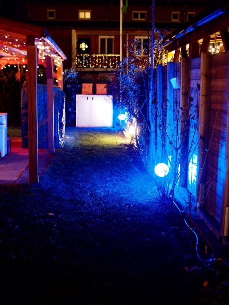 Praxistest im Garten: Lightify (Osram) 1